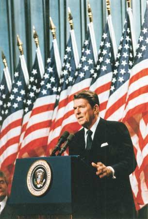 Ronald Reagan Speaking picture