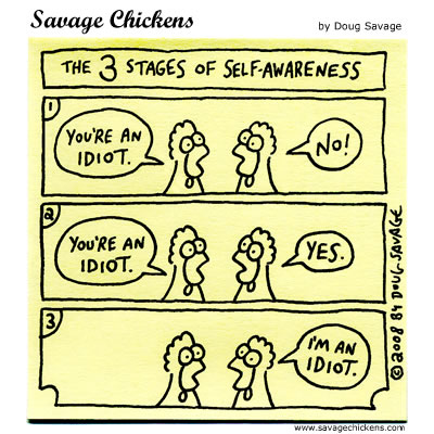 3 Stages of Self-Awareness