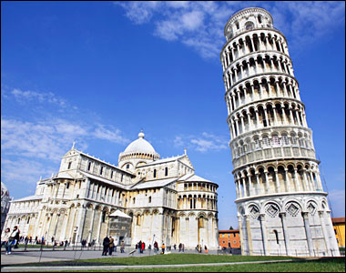 Leaning Tower Equals Weak Foundation
