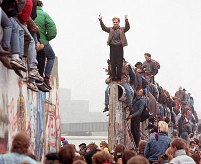 Knocking Down the Berlin Wall