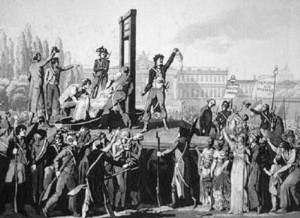 French Revolution: Guillotine
