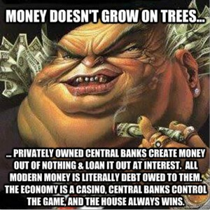 Central Banks Control Money Suppy