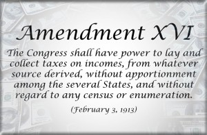 USA Income Tax Amendment
