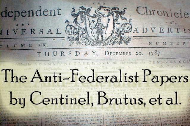 Anti federalist vs federalist essay 10