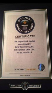 Guinness World Record Plaque