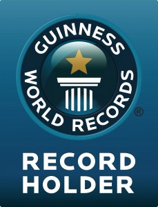 Official Guinness World Record Holder