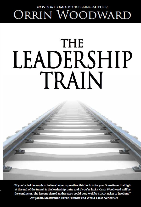 The Leadership Train Cover