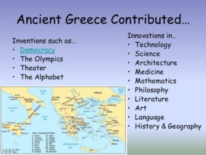 Ancient Greece Innovations