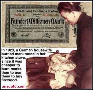 German Hyper-Inflation